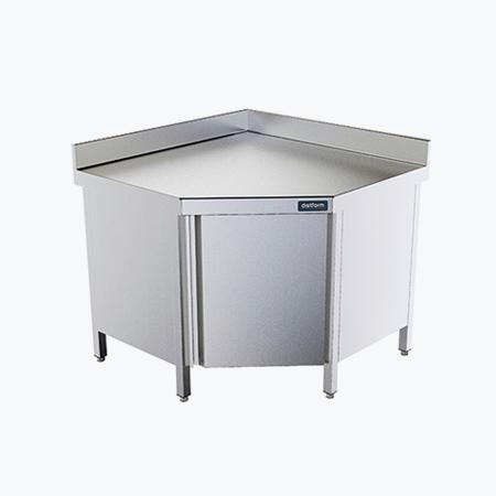 Distform Mesa angular puerta 2 Table d'angle avec porte   Distform   Mesa angular puerta 2
