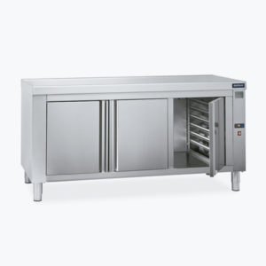 Distform Mesa caliente guias 300x300 Tables chauffantes centrale traversante   Distform   Mesa caliente guias 300x300