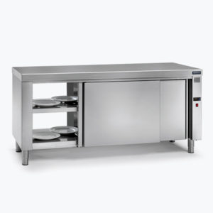 Hot food and bain-marie tables