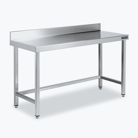 Distform Mesa mural marco 3 1 Table adossée avec renforts   Distform   Mesa mural marco 3 1