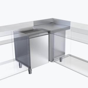 Distform Modulo angular 2 300x300 Module sans socle pour poubelle   Distform   Modulo angular 2 300x300