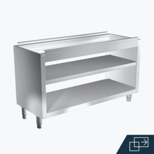 Distform Mueble estante pasante 2 300x300 Module sans socle pour poubelle   Distform   Mueble estante pasante 2 300x300