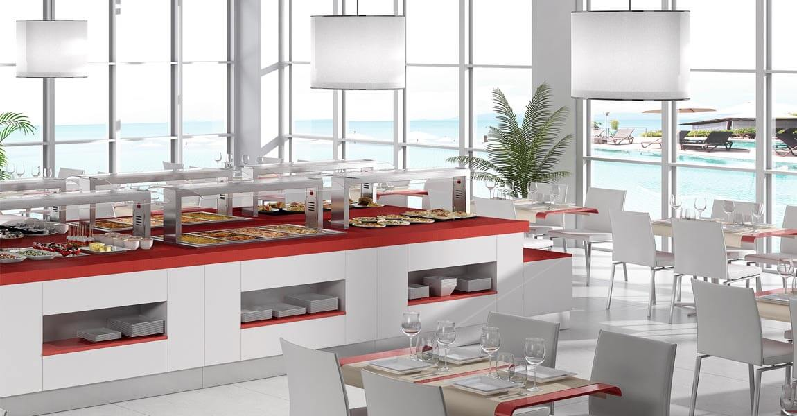 furniture-steel-buffet-selfservice-kitchens-professionals-distform