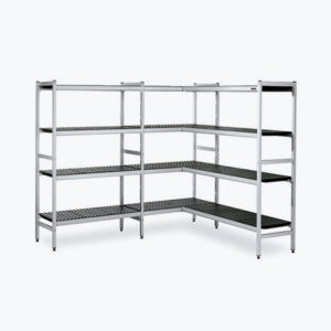 Rayonnages aluminium