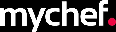 Distform Logo Mychef blanco transparente Ventajas de las vitrinas refrigeradas para tu restaurante buffet   Distform   Logo Mychef blanco transparente