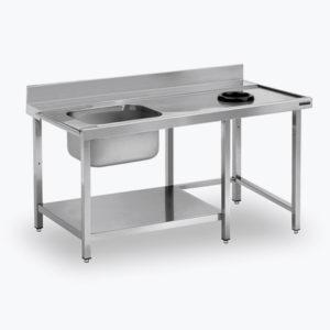 Mesas para lavavajillas