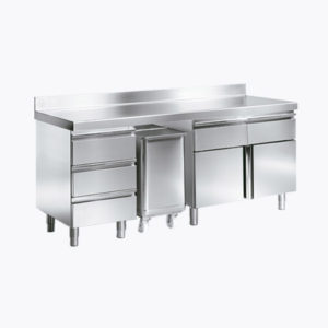Cooking modules and countertops