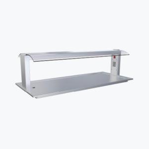 Distform prod 0029 Soporte con pantallas para montaje directo sobre Drop In 300x300 Cristales para soportes Buffet   Distform   prod 0029 Soporte con pantallas para montaje directo sobre Drop In 300x300