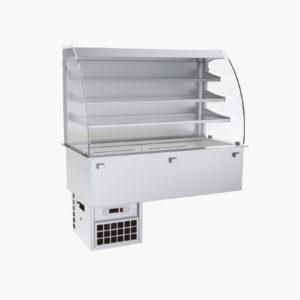 Distform prod 0050 Vitrina refrigerada de 3 niveles con cuba fria ventilada 300x300 Vitrina refrigerada recta de 3 niveles con cuba fría ventilada   Distform   prod 0050 Vitrina refrigerada de 3 niveles con cuba fria ventilada 300x300