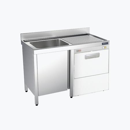 Distform prod 0107 Fregadero con bastidor y espacio para lavavajillas gama 600 Fregadero con bastidor y espacio para lavavajillas gama 600   Distform   prod 0107 Fregadero con bastidor y espacio para lavavajillas gama 600